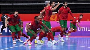 Thắng kịch tính Kazakhstan, Bồ Đào Nha vào chung kết futsal World Cup