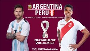 Soi kèo nhà cái Argentina vs Peru. Nhận định, dự đoán bóng đá World Cup 2022 (6h30, 15/10)