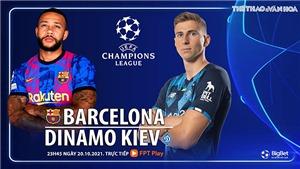 Soi kèo nhà cái Barcelona vs Dynamo Kiev. Nhận định, dự đoán bóng đá Cúp C1 (23h45, 20/10)