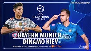 Soi kèo nhà cái Bayern Munich vs Dinamo Kiev. Nhận định bóng đá, dự đoán Cúp C1 hôm nay (2h00, 30/9)
