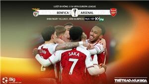 Soi kèo Benfica vs Arsenal. Lượt đi vòng 1/16 Europa League