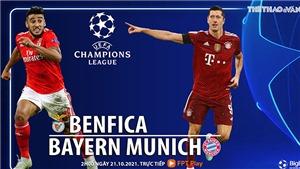 Nhận định bóng đá Benfica vs Bayern (2h00, 21/10)