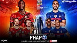 Soi kèo nhà cái Bỉ vs Pháp. Nhận định, dự đoán bóng đá Nations League (1h45, 8/10)