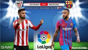 Soi kèo nhà cái Bilbao vs Barcelona. BĐTV trực tiếp bóng đá Tây Ban Nha (3h00, 22/8)