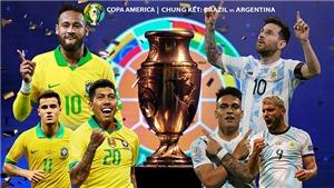 Kèo nhà cái. Soi kèo Brazil vs Argentina. Trực tiếp bóng đá Copa America 2021