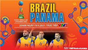 Soi kèo nhà cái Futsal Brazil vs Panama và nhận định bóng đá Futsal World Cup 2021 (20h00, 19/9)