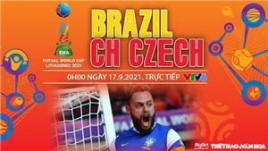 Soi kèo nhà cái Futsal Brazil vs Séc và nhận định bóng đá Futsal World Cup 2021 (0h00, 17/9)