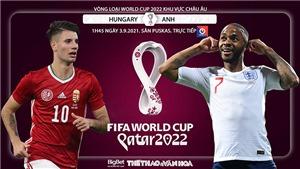 Soi kèo nhà cái Hungary vs Anh và nhận định bóng đá vòng loại World Cup 2022 (1h45, 3/9)