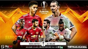 Soi kèo nhà cái MU vs AC Milan. K+PM trực tiếp bóng đá Cúp C2