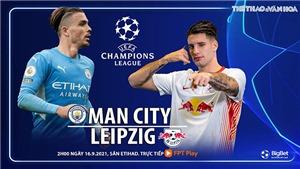 Soi kèo nhà cái Man City vs RB Leipzig và nhận định bóng đá Cúp C1 (2h00, 16/9)