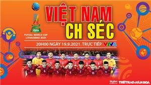 Soi kèo nhà cái Futsal Việt Nam vs CH Séc và nhận định bóng đá Futsal World Cup 2021 (20h00, 20/9)