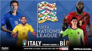 Soi kèo nhà cái Ý vs Bỉ. Nhận định, dự đoán bóng đá Nations League (20h00, 10/10)