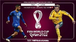 Soi kèo nhà cái Ý vs Litva và nhận định bóng đá vòng loại World Cup (1h45, 9/9)
