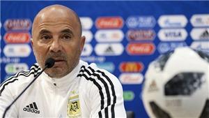 NÓNG: Argentina họp khẩn, sẽ sa thải Sampaoli trong hôm nay