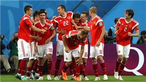TRỰC TIẾP Uruguay vs Nga (21h00, 25/6), bảng A