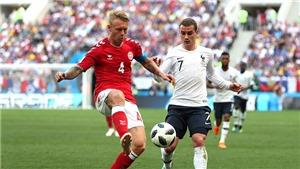 Đan Mạch 0-0 Pháp, Úc 0-2 Peru: ĐT Pháp giành ngôi nhất bảng C, tiến vào vòng 1/8 cùng Đan Mạch