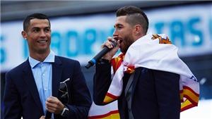 Sergio Ramos: 'Tất cả là bịa đặt. Chỉ còn thiếu việc Firmino bị cảm lạnh vì trót dính mồ hôi tôi'