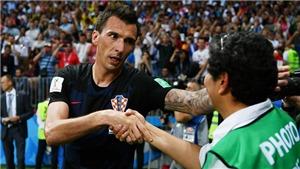 Sao Croatia xin lỗi ăn mừng quá khích, xô ngã phóng viên đang tác nghiệp