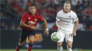 AC Milan 1-1 (pen: 8-9) M.U: Alexis Sanchez nổ súng, M.U đánh bại Milan trên loạt sút luân lưu