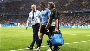 Uruguay vs Pháp: Tin mới nhất về chấn thương của Cavani
