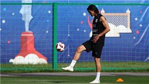 Tin lực lượng mới nhất trận Uruguay vs Pháp: Cavani đã tập luyện trở lại