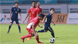 U23 Nhật Bản thắng tối thiểu Nepal trong trận ra quân