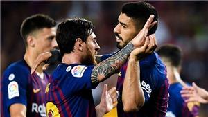 Real Sociedad 1-2 Barcelona(KT): Messi mờ nhạt. Barca vất vả giành chiến thắng tại Anoeta