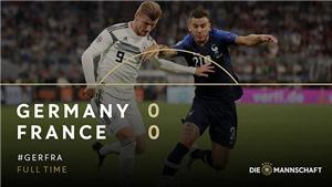 ĐKVĐ thế giới Pháp bị 'cựu vương' Đức cầm chân tại thánh địa Allianz Arena