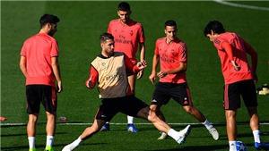 Sergio Ramos gây sốc khi 2 lần nổi nóng, đá dằn mặt đồng đội trong buổi tập
