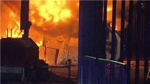 KINH HOÀNG: Trực thăng phát nổ, chủ tịch người Thái của Leicester lành ít dữ nhiều