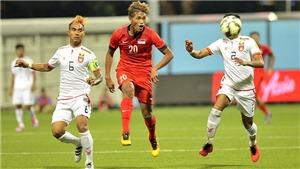 Xem TRỰC TIẾP Philippines vs Singapore (19h00, 13/11), vòng bảng AFF Cup 2018
