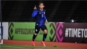 'Messi Campuchia' từng là nỗi khiếp sợ trên sân Hàng Đẫy