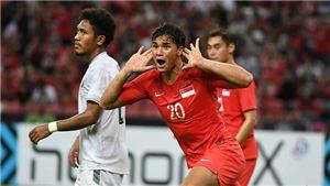 Tài năng trẻ ĐT Singapore nói gì trước trận đại chiến với Thái Lan?