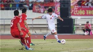 VIDEO: Công Phượng solo, Xuân Trường đá chạm xà, Anh Đức đá bồi, Việt Nam 2-0 Lào
