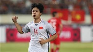 Công Phượng nói gì sau khi được bầu là Cầu thủ xuất sắc nhất trận gặp Lào?