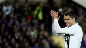 Fiorentina 0-3 Juventus: Cristiano Ronaldo ghi bàn thắng thứ 10 tại Serie A