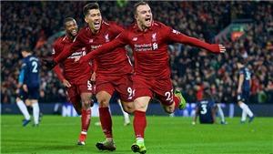 Video clip bàn thắng Liverpool 3-1 M.U: Siêu dự bị XherdanShaqiri toả sáng