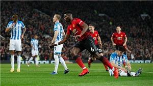 M.U 3-1 Huddersfield: Paul Pogba tỏa sáng, HLV Ole Solskjaer ra mắt hoàn hảo trên Old Trafford