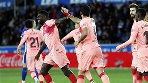 Alaves 0-2 Barcelona: Barca vô địch đêm nay nếu Atletico thua Valencia