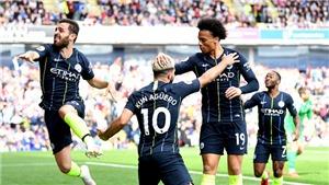 Burnley 0-1 Man City: Kun Aguero tỏa sáng, Man City lấy lại ngôi đầu bảng