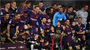 CẬP NHẬT sáng 28/4: Barcelona vô địch Liga. PSG mất Cúp Quốc gia Pháp. Dortmund trượt chân