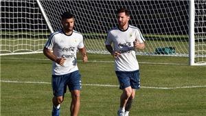 Lộ đội hình ra sân của Argentina vs Colombia: Kun Aguero sát cánh Leo Messi