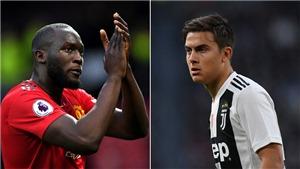 NÓNG: MU đạt thỏa thuận trao đổi Romelu Lukaku lấy Paulo Dybala