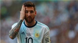 Bóng đá hôm nay 6/7: Trực tiếp bóng đá Argentina vs Chile. 'Leo Messisinh nhầm thời'