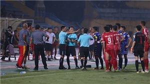 Viettel 2-1 B.Bình Dương:HLV Nguyễn Thanh Sơn bức xúc vì trọng tài Trương Hồng Vũ 'bẻ còi'