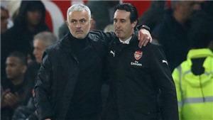 Arsenal: Mourinho ăn tối với giám đốc Sanllehi, sắp lên thay Emery