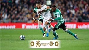 Real Madrid 0-0 Real Betis: Rơi điểm trên sân nhà, Real Madrid lỡ cơ hội lấy lại ngôi đầu bảng