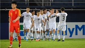 U23 Trung Quốc chính thức bị loại khỏi U23 châu Á 2020 sau trận thua Uzbekistan