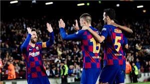 Barcelona 5-0 Leganes: Leo Messi tỏa sáng, đưa Barca vào tứ kết cúp Nhà Vua