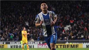 Wu Lei được khen ngợi hết lời khi lập kỳ tích với bàn thắng vào lưới Barca